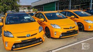 สีพ่นรถแท็กซี่