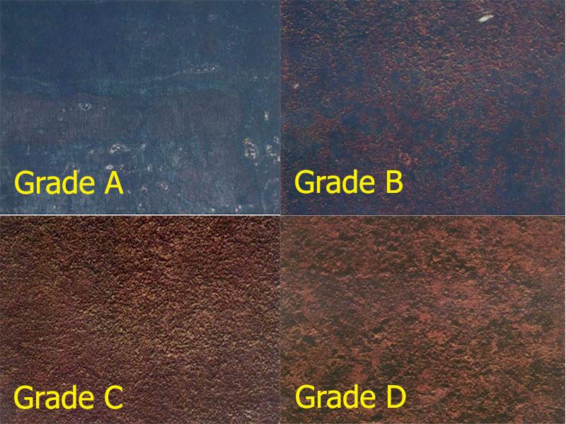 มาตรฐานผิวเหล็ก ASTM